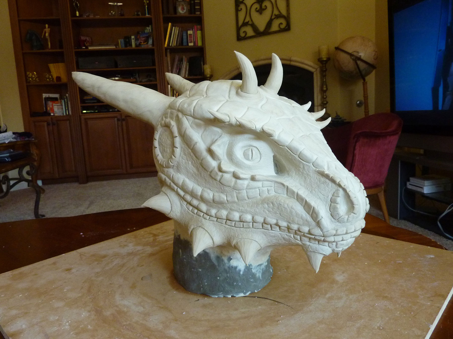 Argonian Clay Sculpt