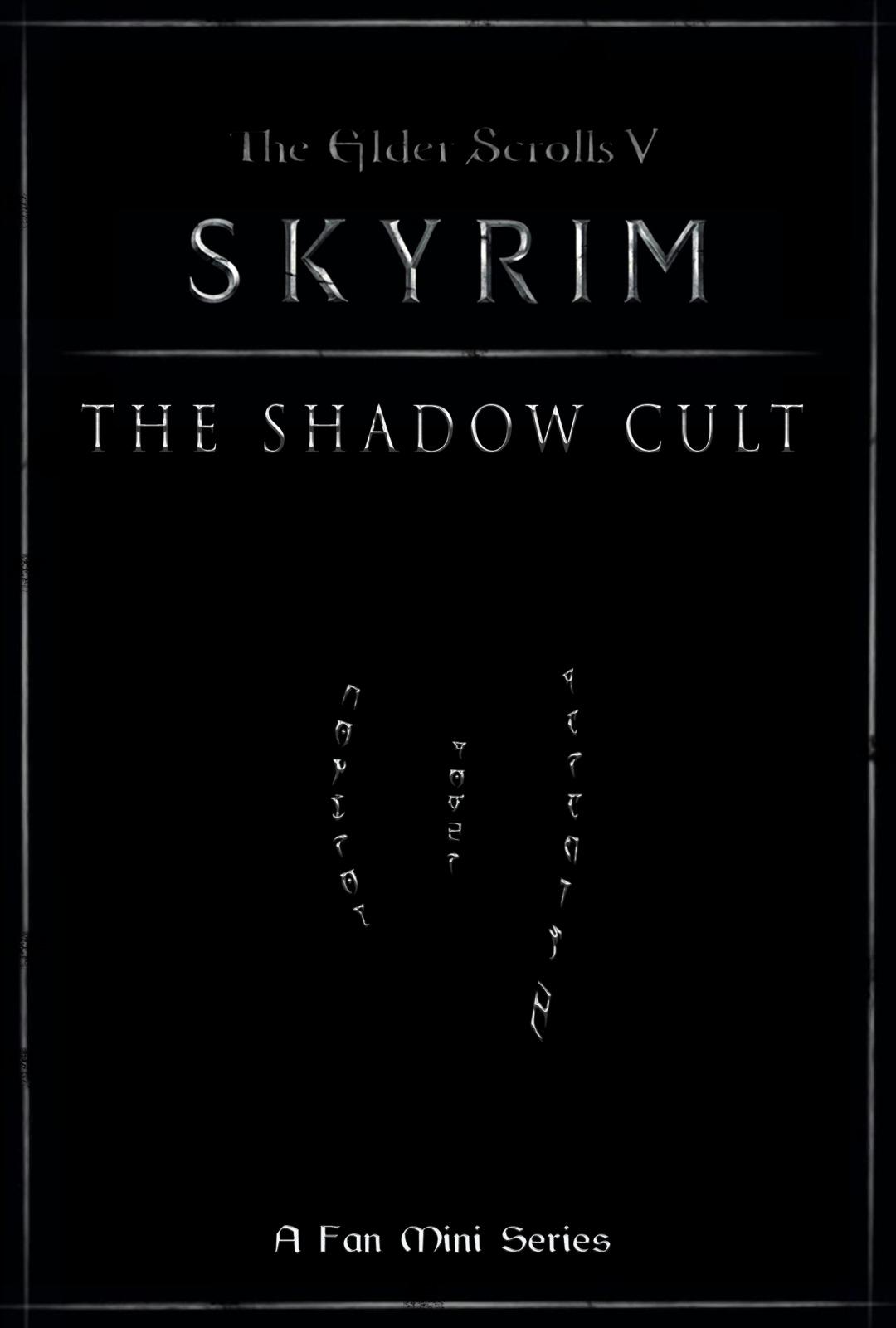 Skyrim the Shadow Cult