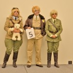 Hetalia Costumes Canada, America & England at Comic con Masquerade 2013