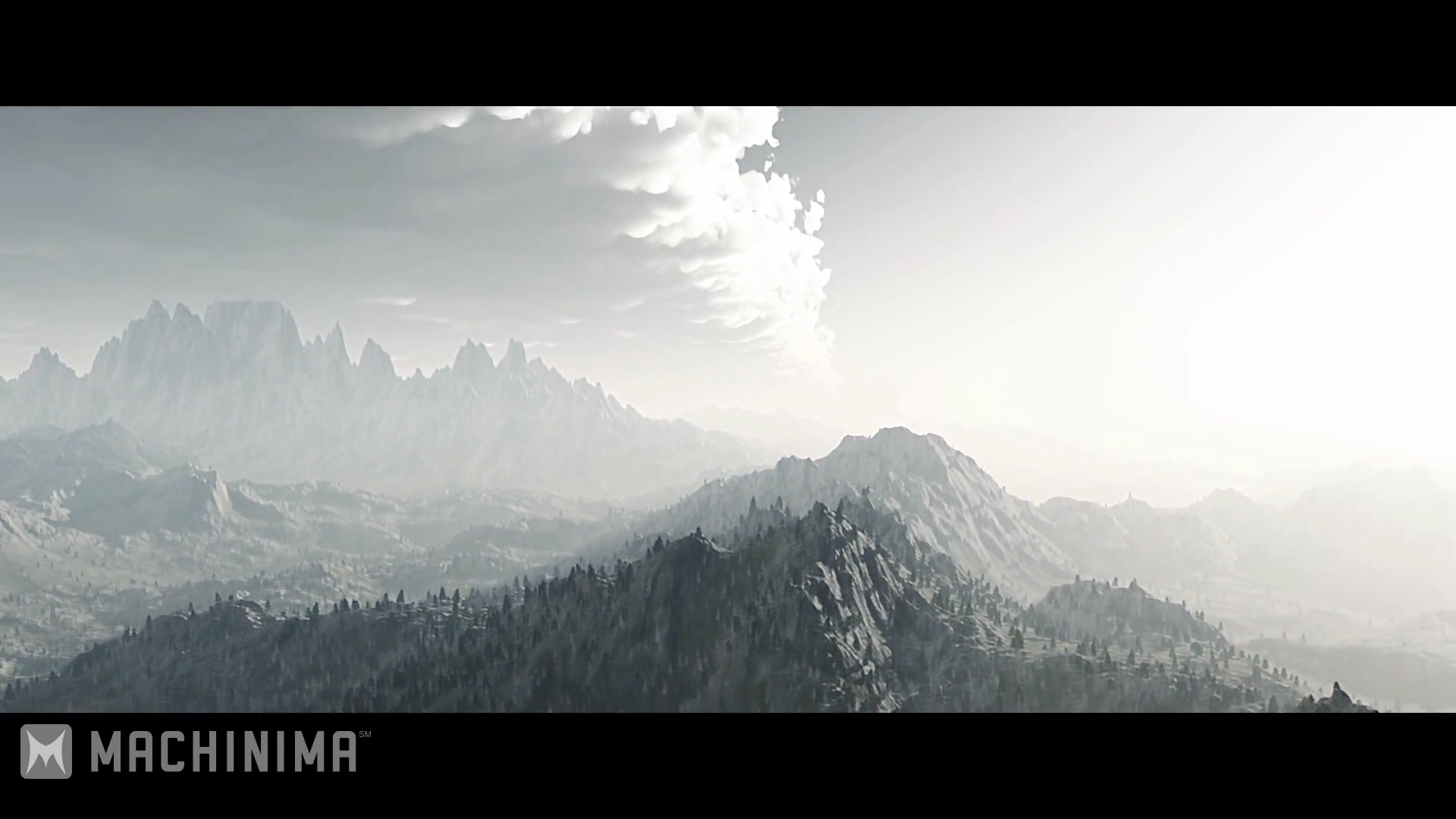 Skyrim Into the Void video screen shots Mountain scene