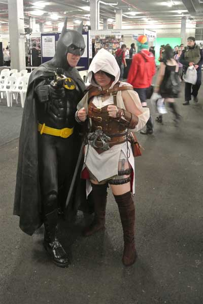Assassins Creed Costume at a Con in Austrailia