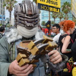 Issac Clark outside Comic-con2