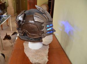 Dead Space 3 Helmet Side