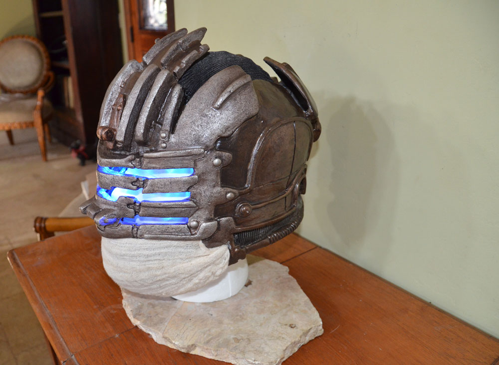 Dead Space 3 Helmet other side