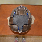 Dead Space 3 Helmet top view