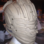 Dead Space 3 Helmet side sculpt