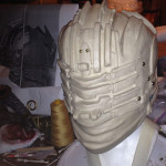 Dead Space 3 Helmet sculpt