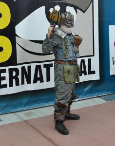Issac Clark Dead Space 3 posing