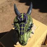 Custom Order Argonian Costume Helmet Skyrim 2