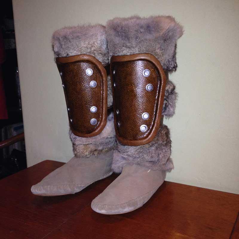 Skyrim Fur Boot Armor