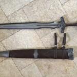 Skyrim Steel Sword w/Scabbard