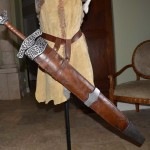 Skyrim Steel Sword and Scabbard