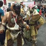 Skyrim Dovahkiin and Argonian Comic Con 2015