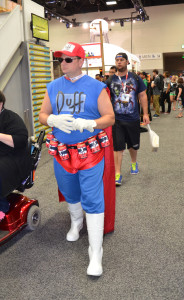 The Simpsons Duff Man Comic_con_Cosplay_20151001