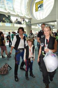 Hans Solo and Luke skywalker Star Wars Comic_con_Cosplay_20151025