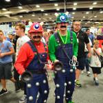 Mario and Luigi Dalek Comic con 2015