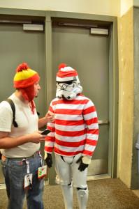 Where's Waldo Stormtrooper Comic Con 2015