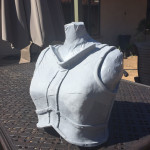 Skyrim Iron Armor cast front view