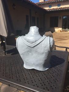Skyrim Iron Armor cast back view