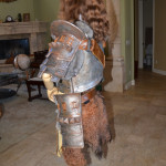 Women's Skyrim Banded Iron Armor side