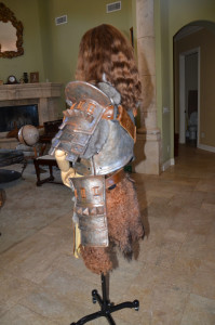 Women's Skyrim Banded Iron Armor side