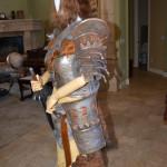 Women's Skyrim Banded Iron Armor