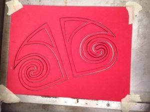 Vector Art cut on Laser