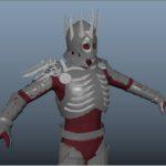 Witcher Series Eredin Model in progress