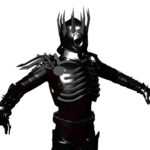 Witcher Series Eredin Model front view in progress